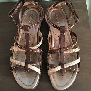 Strappy ECCO Sandals size 40